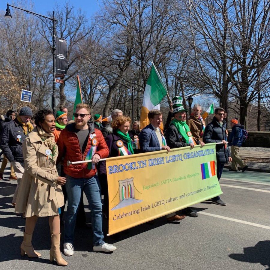 Brooklyn Irish LGBTQ Organization - Brooklyn Irish LGBTQ Organization (BILO) was formed by LGBTQ Brooklynites of Irish descent to celebrate the diversity of the Irish and Irish-American community in Brooklyn. In 2019, with the support of Assembly Member Robert Carroll, BILO became the first LGBTQ contingent to march in Brooklyn's Irish American Day/St. Patrick's Day parade, ending several decades of LGBTQ exclusion.