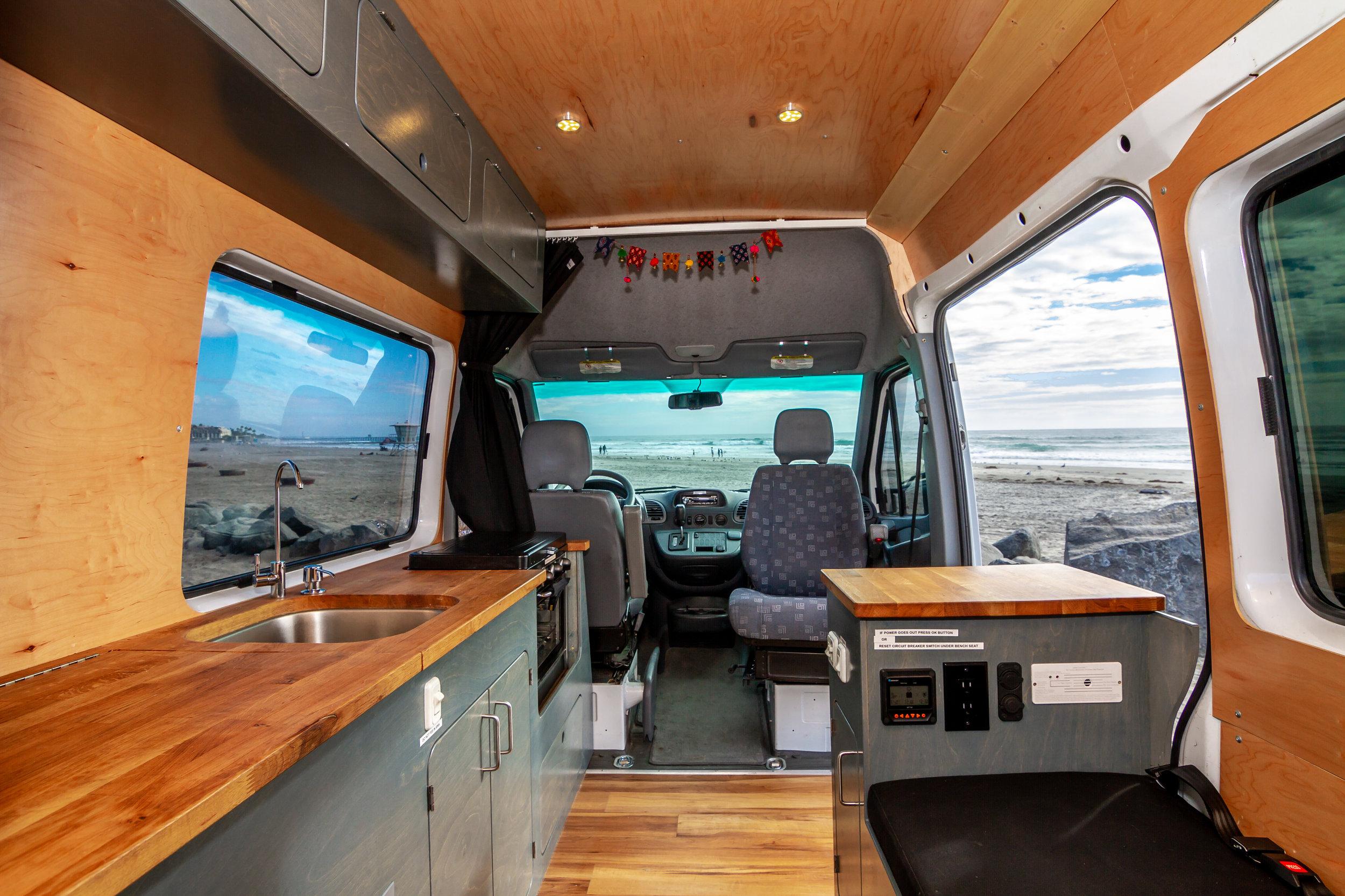 Long Wheel Base Vans (158'')