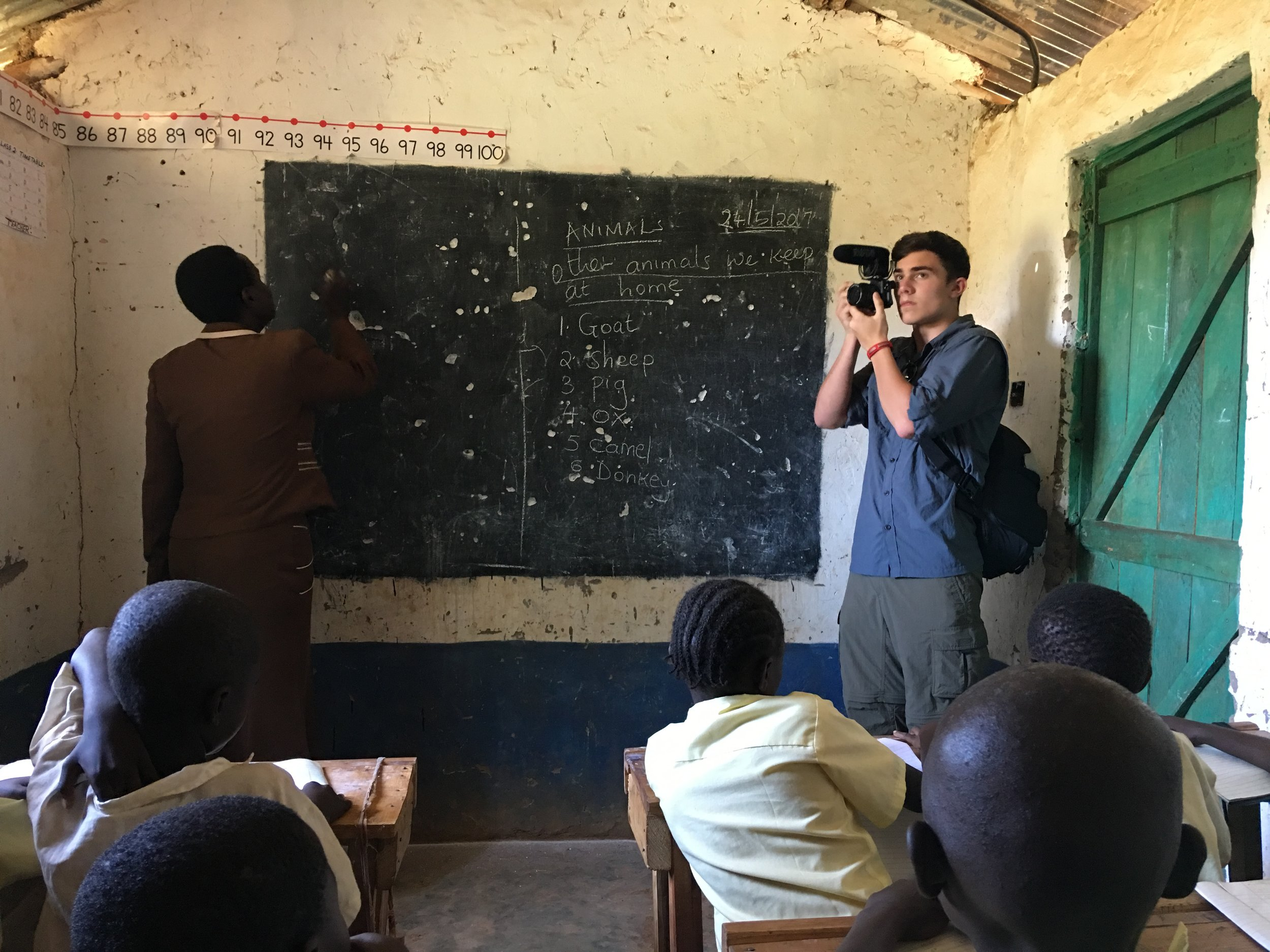 Hunter, as a high school student, joined the OWC on our trip to Kenya as our official documentation expert. He took the grand majority of the pictures from the trip and also captured a large amount of video footage.