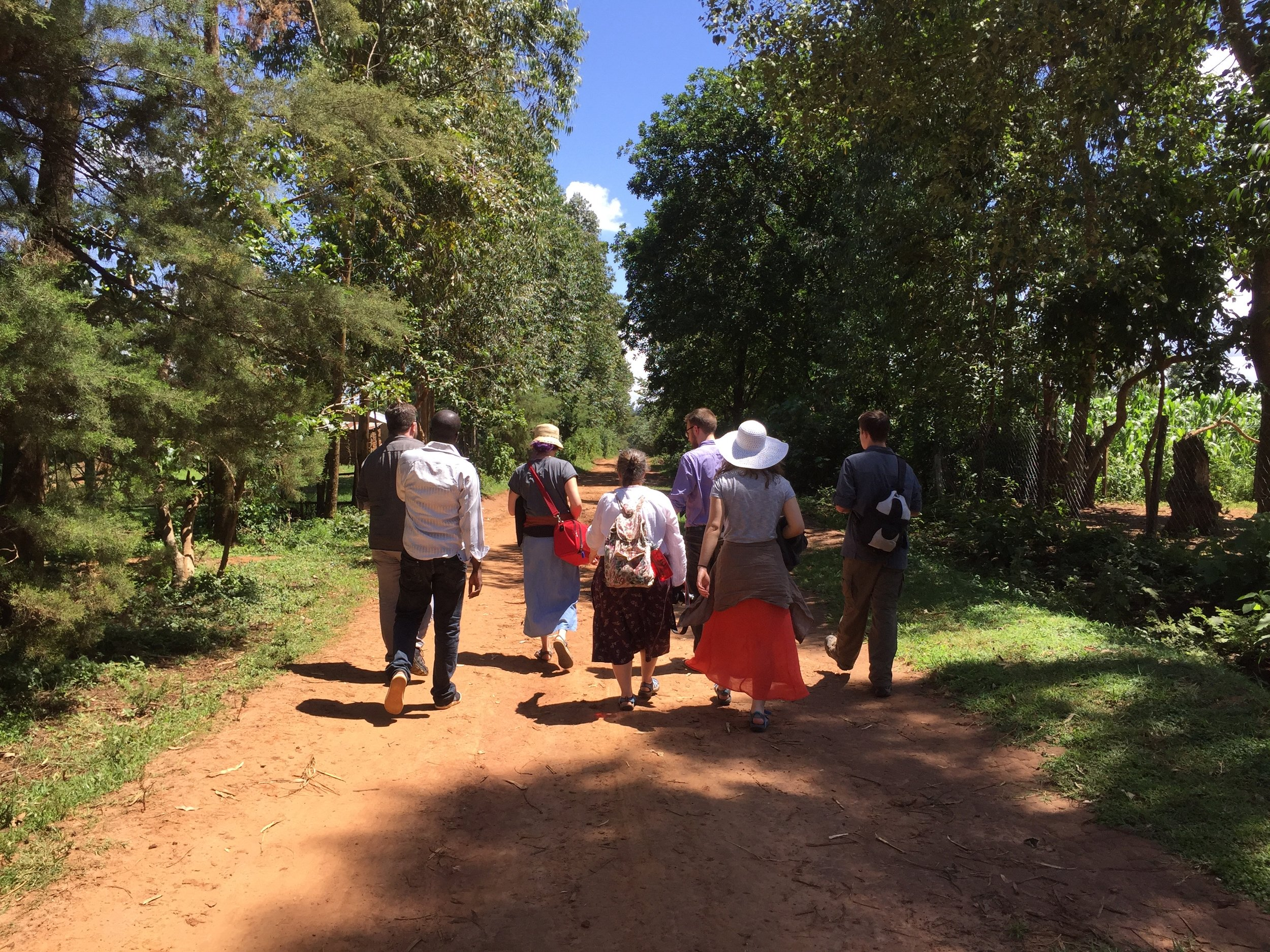 After a wonderful first day at HIP, the OWC team heads back to Livingstone's parents house who were kind enough to offer lodging.