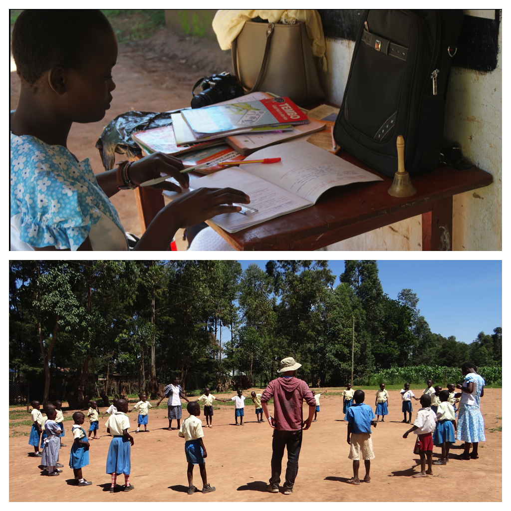 Throughout the first two days, the educators on the trip observed the process of Kenya's administrators and classroom instructors. That included viewing teachers lesson plans and classroom work, but also allowed us to play outdoor learning games with the students!