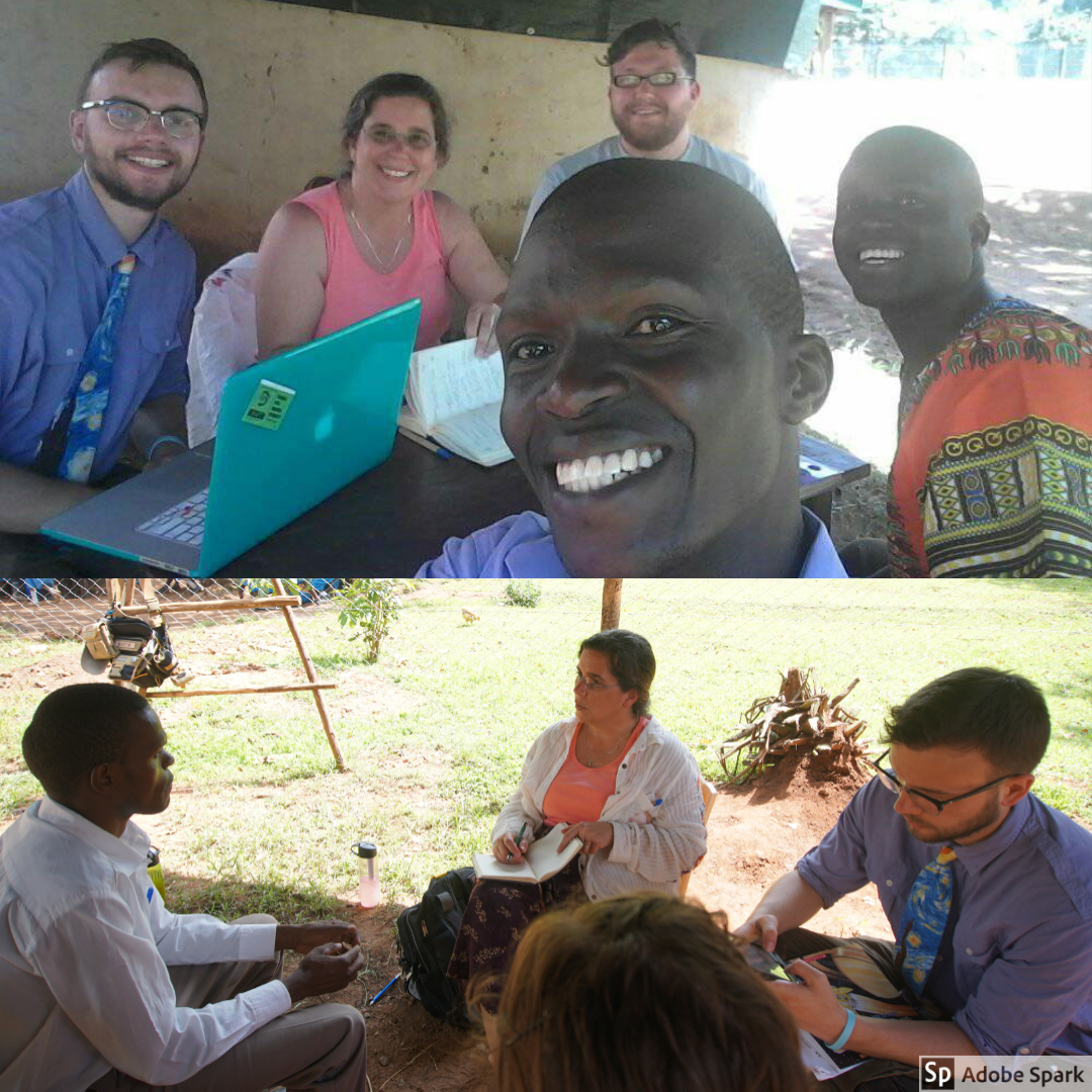 The OWC team had many meetings with Livingstone and community members throughout the week that we were in Kimilili. Melissa generally conducted the meetings while Ben took detailed notes.
