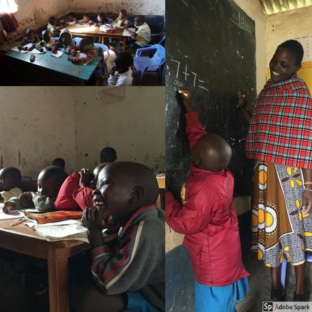 While the OWC team was in Kenya, they were in the middle of their winter. While we were generally still pretty warm, the students were cold. They would do their lessons with shawls or jackets to keep warm.