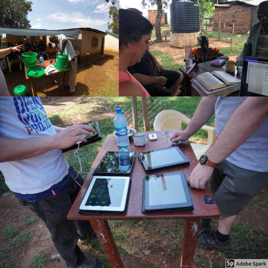 Before leaving, we wanted to make sure that the items we brought to Kenya were going to be used well. We made sure to train teachers and community members on the water filters and iPads.