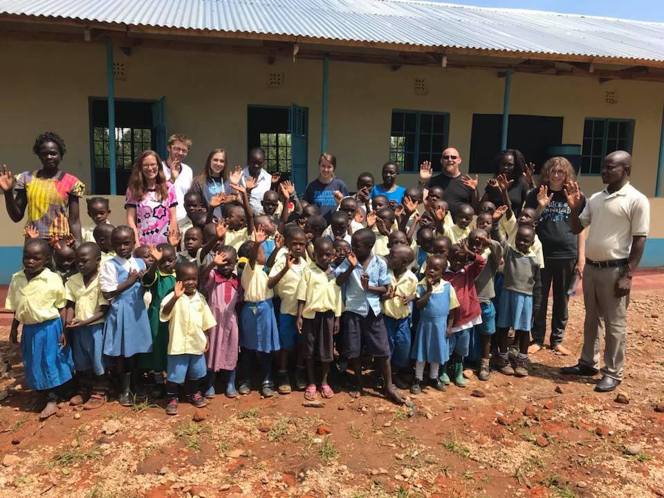 After OWC's initial trip to Kenya, Professor Jeremy Gulle and Professor Beth Gulley and their students/children continued going to HIP to continue OWC's work at the school.