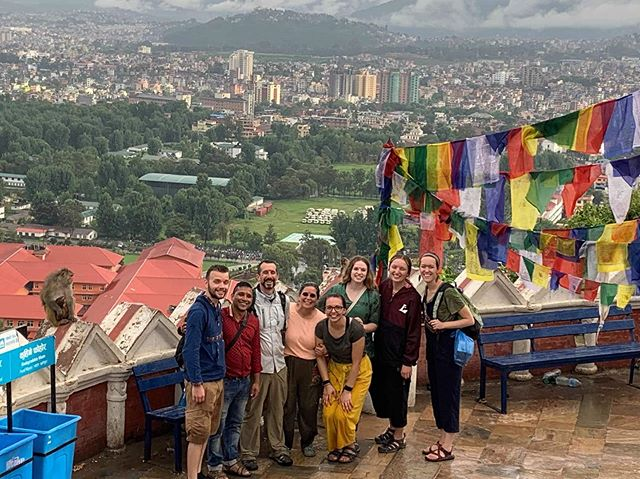 Today we said Namaste, Nepal. 😢 Sad to leave but happy about the adventures. We worked hard at Tri Ka and played hard in #Kathmandu at the end of the trip. Proud of our team and our work! We'll be sharing photos and stories about our travels after we get settled back in! ✈️ 🇳🇵 #travel #educationtravel #education #teacherssupportteachers #professionaldevelopment