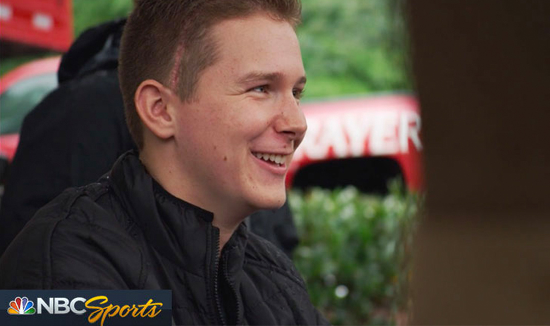 BACK TO TRACK: THE MATT TIFFT STORY  Director/Executive Producer of a NBC Sports Network documentary on 20 year-old NASCAR driver Matt Tifft, who had a brain tumor removed and used his triumphant return to racing to raise brain tumor awareness.