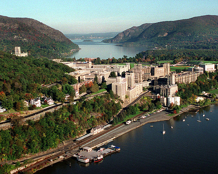 View of West Point and the Hudson