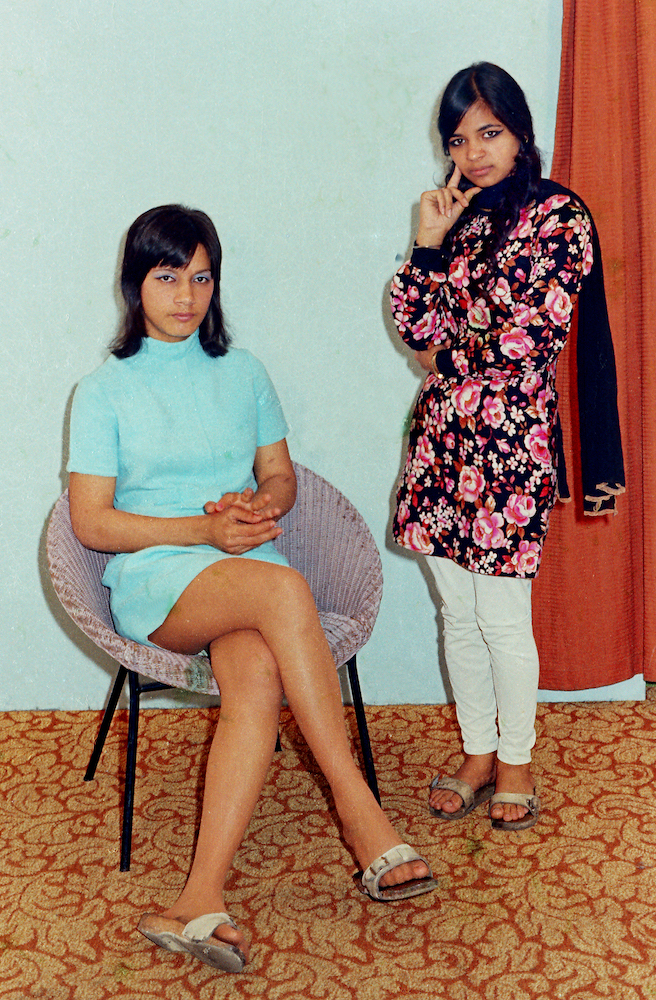 Striking young women in the 1970s, defiant, bold and a lot of attitude.