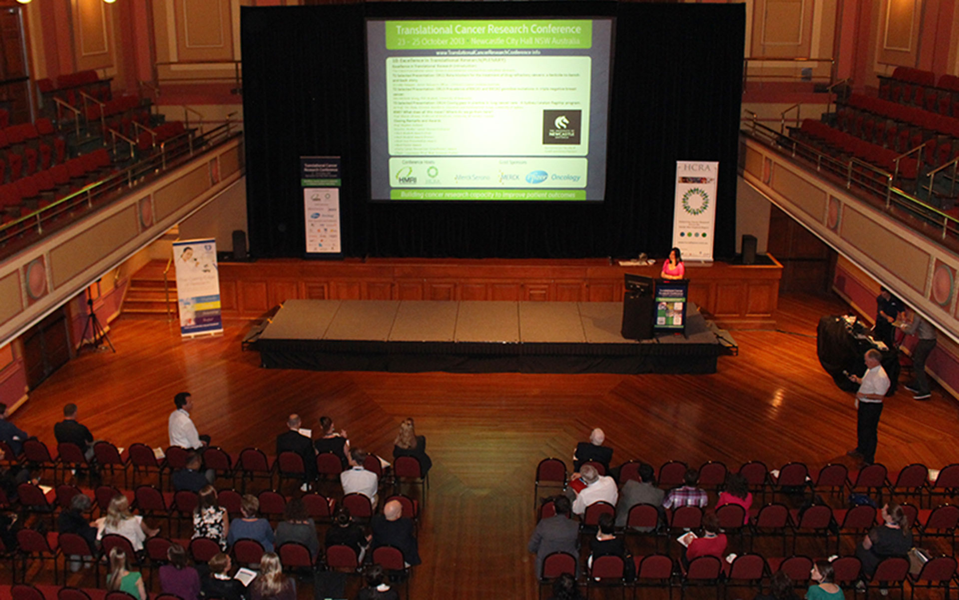 Hunter Cancer Research Symposium   Friday 8 November 2019 Newcastle City Hall   Register to attend