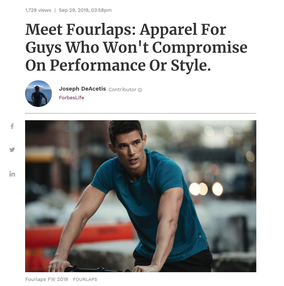 https://www.forbes.com/sites/josephdeacetis/2019/09/29/meet-fourlaps-apparel-for-guys-who-wont-compromise-on-performance-or-style/#463c43a017a2