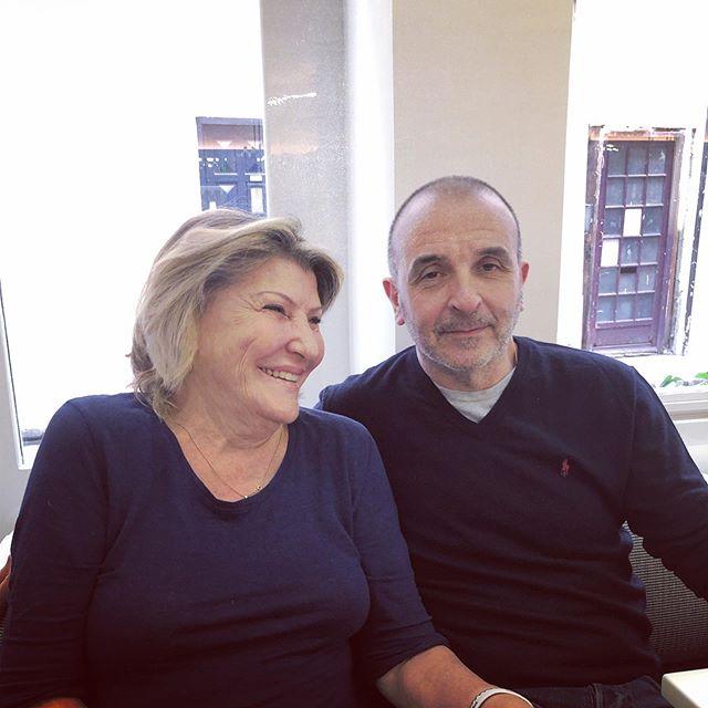 Anna & Marco #theplacetobe @lecafemarco