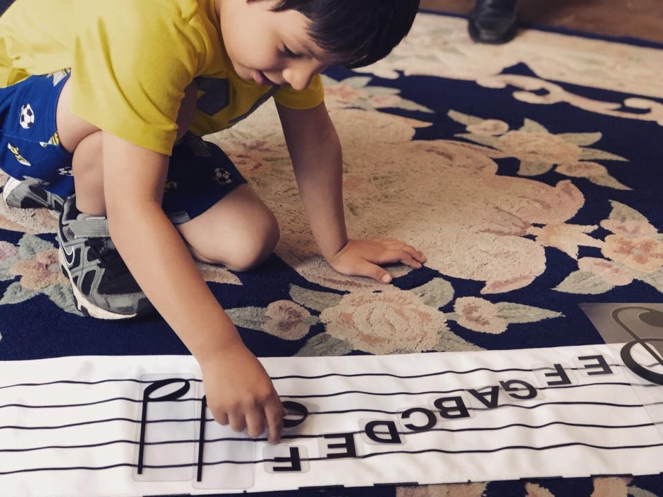 Creating the foundations for a musical future! -
