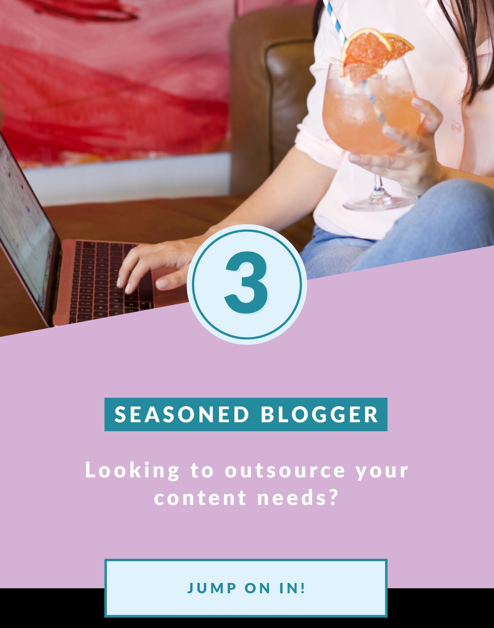 Seasoned Blogger | Blogging In Progress