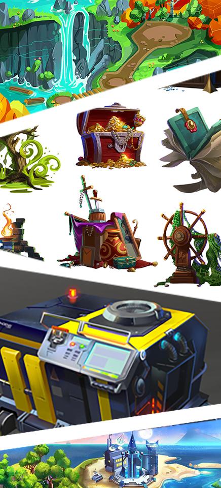 2D Art Assets -