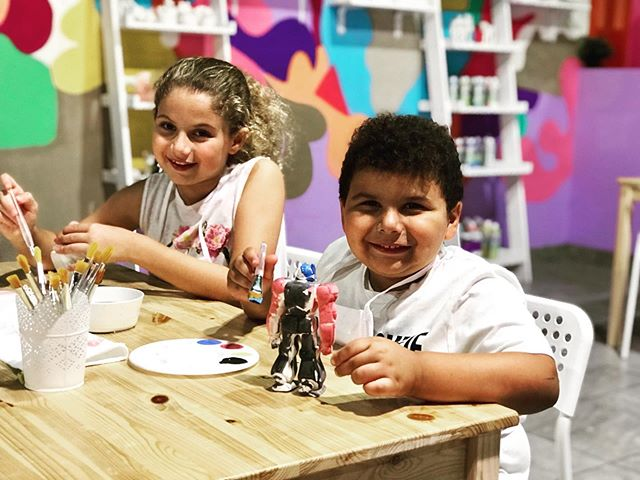 Come to Yo-yo's Fun Center to bring out your creative side! We'll be waiting🎨#fun#pottery#creativity