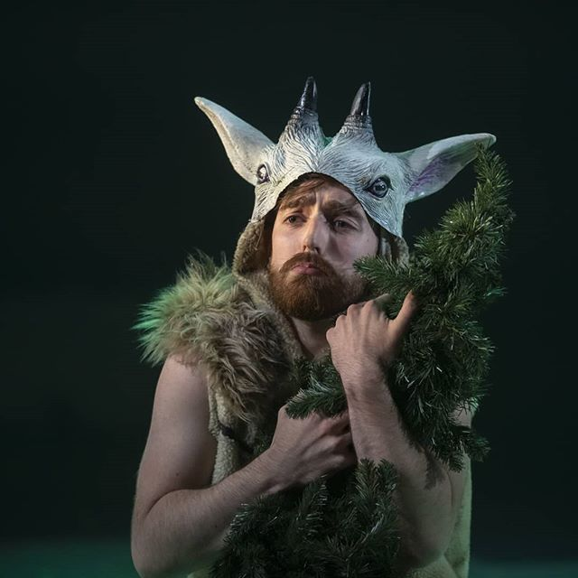 Satirino - A young Satyr that doesnt handle rejection terribly well.. 🐐  Opening Night of La Calisto at @longboroughfestivalopera was thrilling, and I cannot wait to go back for three more. It's a very special show, and not one to be missed!