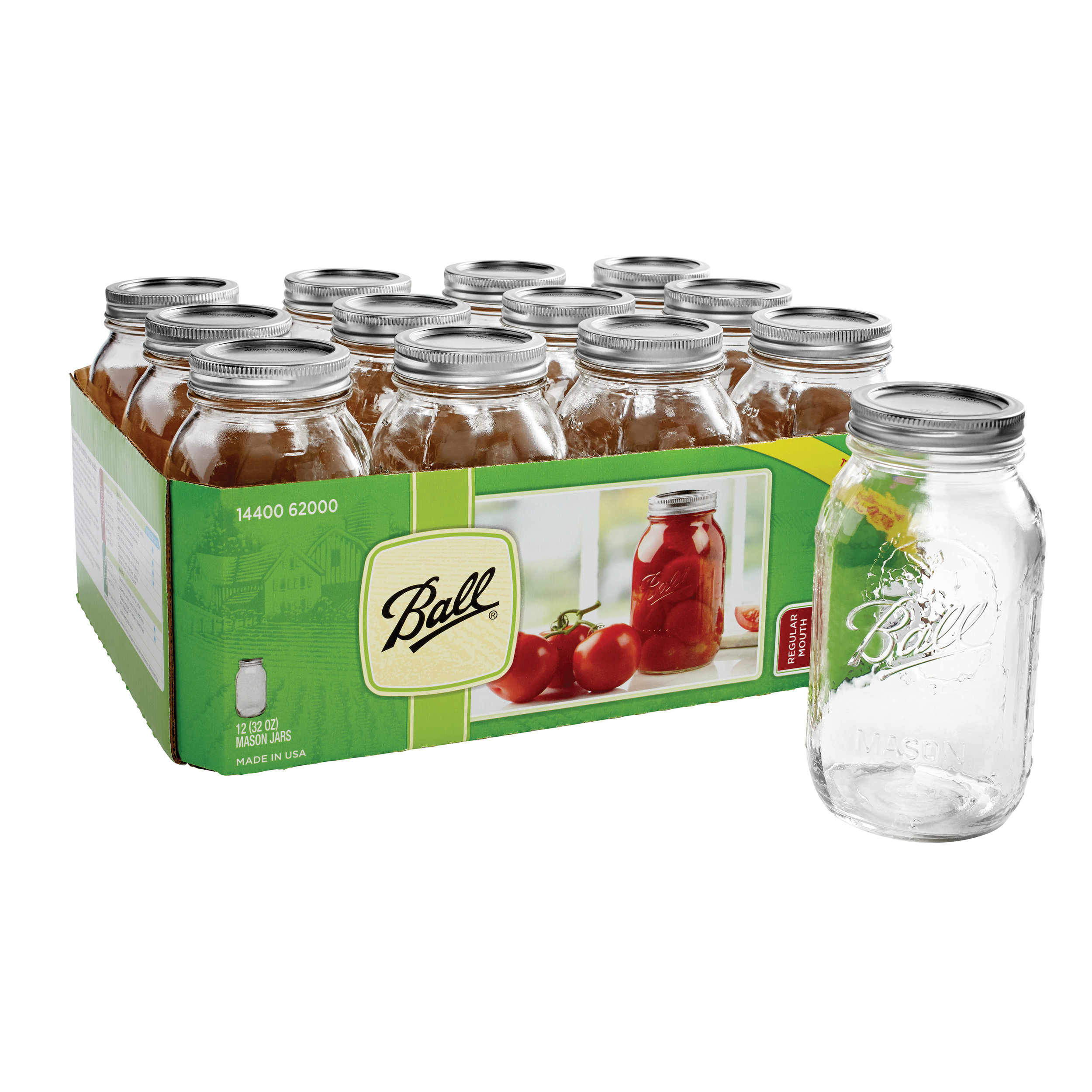 32 oz Ball Mason Jars - These classics speak for themselves.