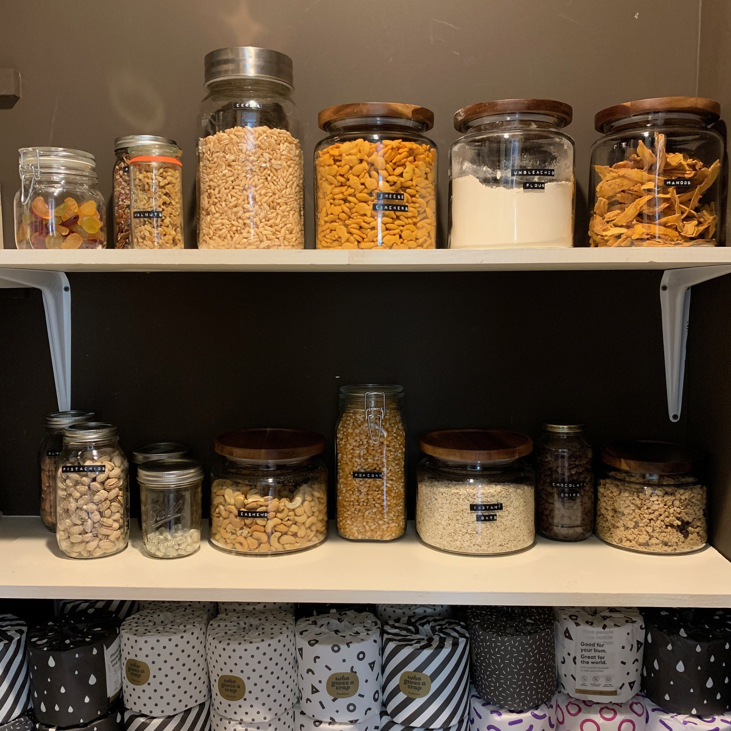 AT HOME STORAGE ESSENTIALS -