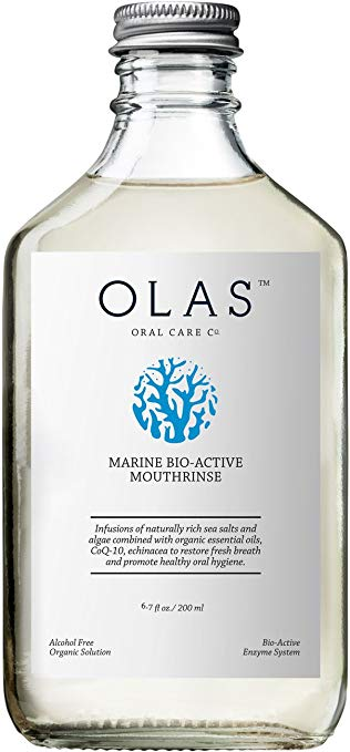 Olas Mouthwash - Another product I've used for a while and love. In recyclable / reusable glass bottle.