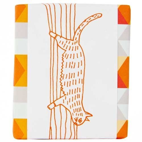 Meow Meow Tweet Bar Soap - Tangerine basil bar soap. I love bar soap, especially for shaving. This scent is awesome.