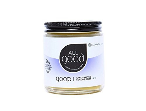 All good goop - We use this for diaper changes, boo boos and everything that needs soothing. It has a wonderful lavender scent. I get the 9 oz but it comes in 3 and 6 oz as well.