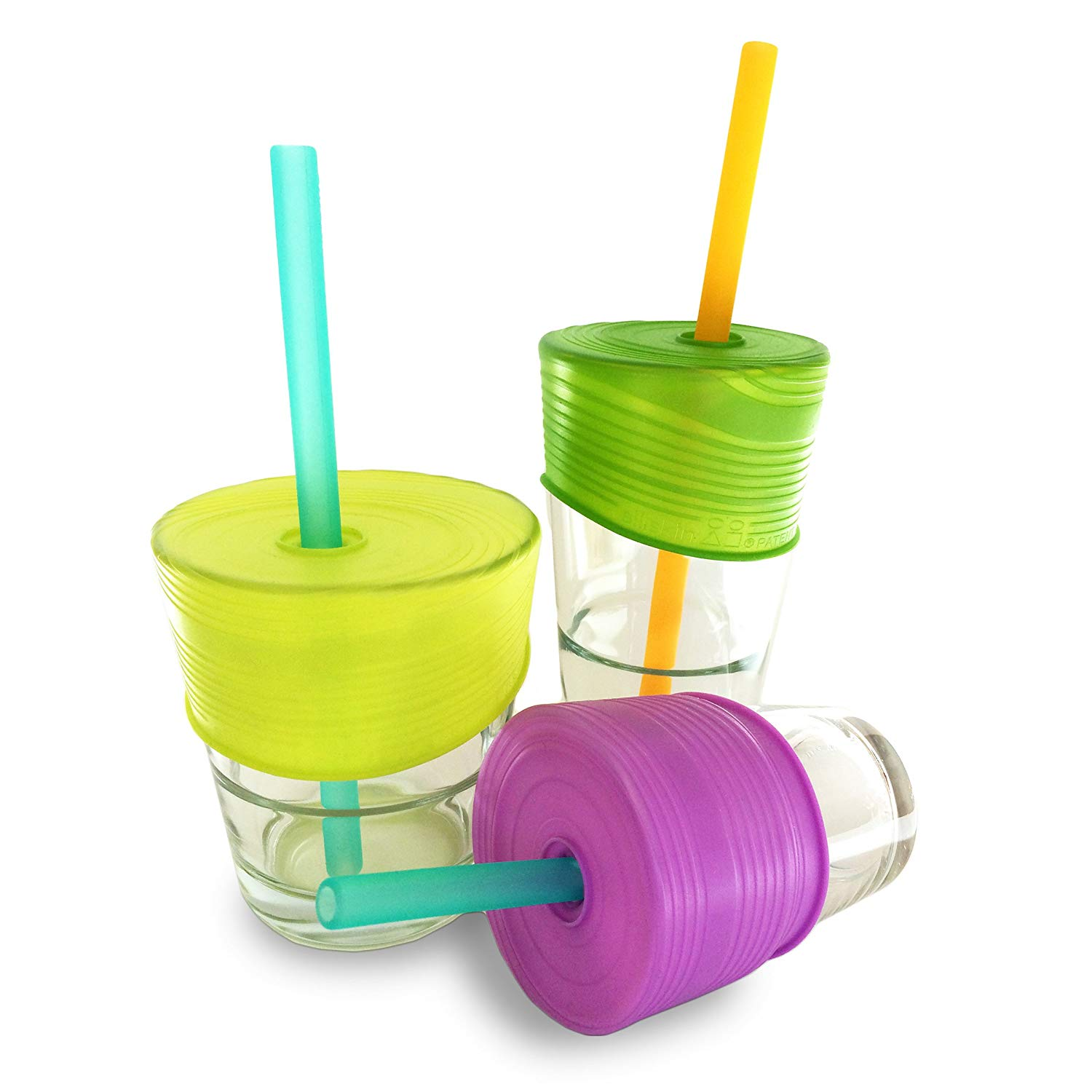 Silikids Cup Lids - Refuse single-use plastic cups at restaurants by bringing these easy-to-pack cup covers in your bag for the kids.