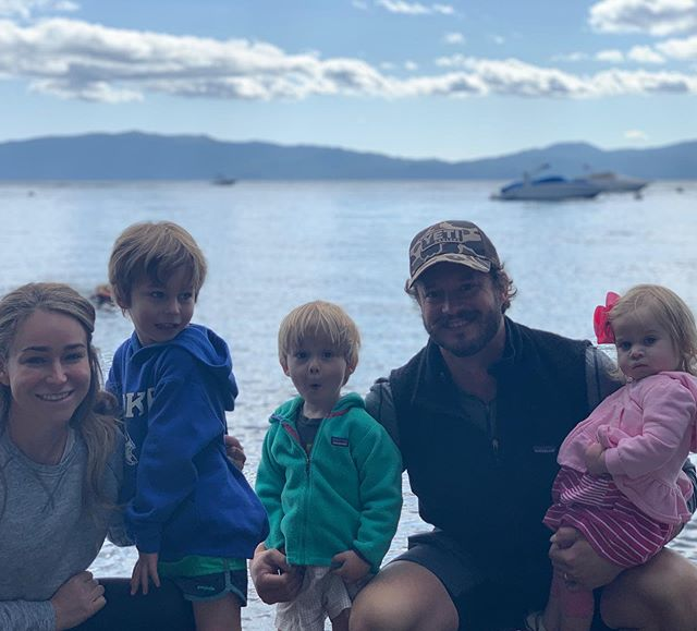 We 💙 Lake Tahoe! Thank you @jamesshwa and @tahlz818 for inviting us to your beautiful wedding in such a beautiful place. Now back to unpacking...                    #keeptahoeblue #familyvacation #mothernature #shawshoe