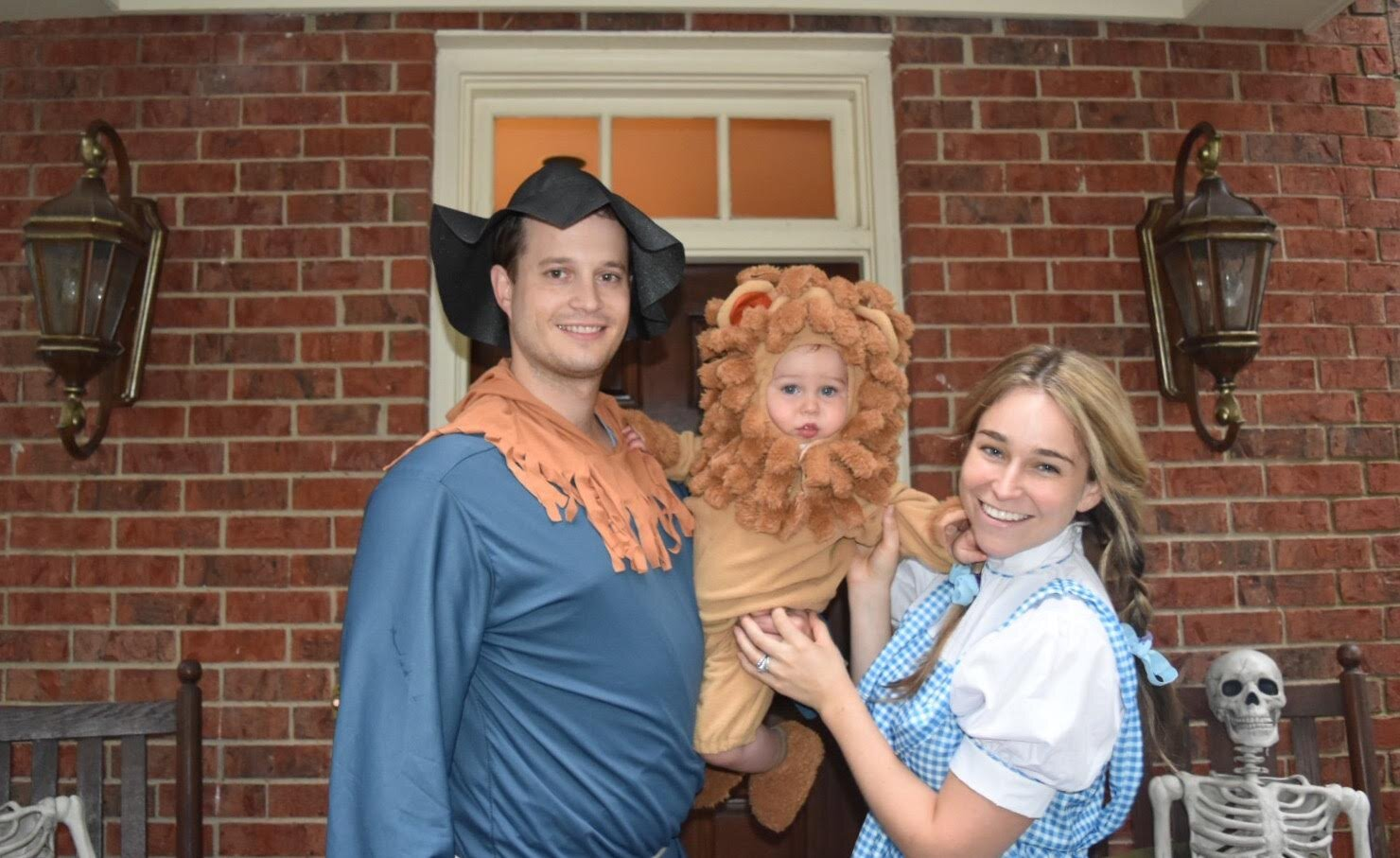 One more throwback… our first Halloween with Wil!
