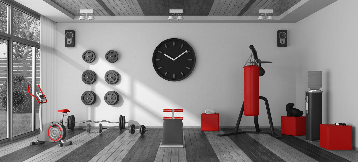 IN-HOME & CORPORATE GYM DESIGN — The Training Room