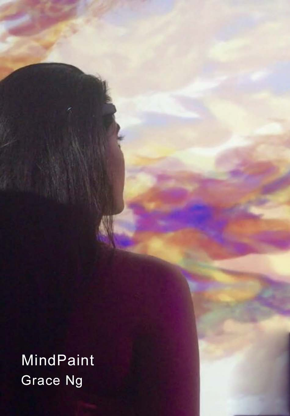 Grace Ng's Mind Paint Interactive Installation will be featured in the Experiential NeuroLab.