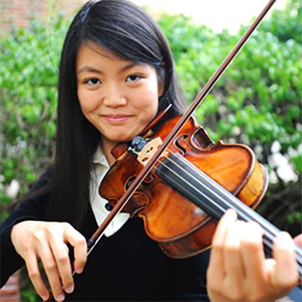 Psyche Loui tackles in the MIND (Music, Imaging, and Neural Dynamics) Lab, which studies the neuroscience of music perception and cognition. At BrainMind, she performed on violin and spoke to some of these insights on stage.