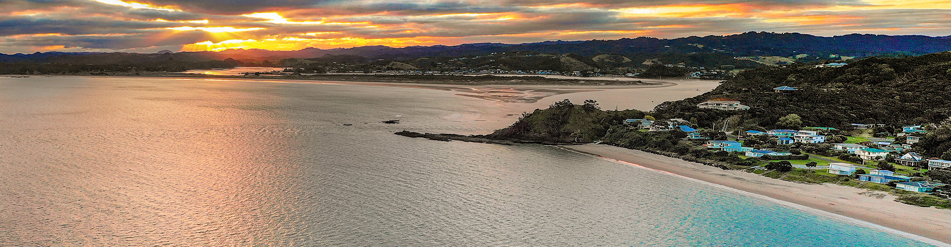 Whangaumu Bay - sometimes known as Wellington's Bay - is a 5 minute drive from Tutukaka.