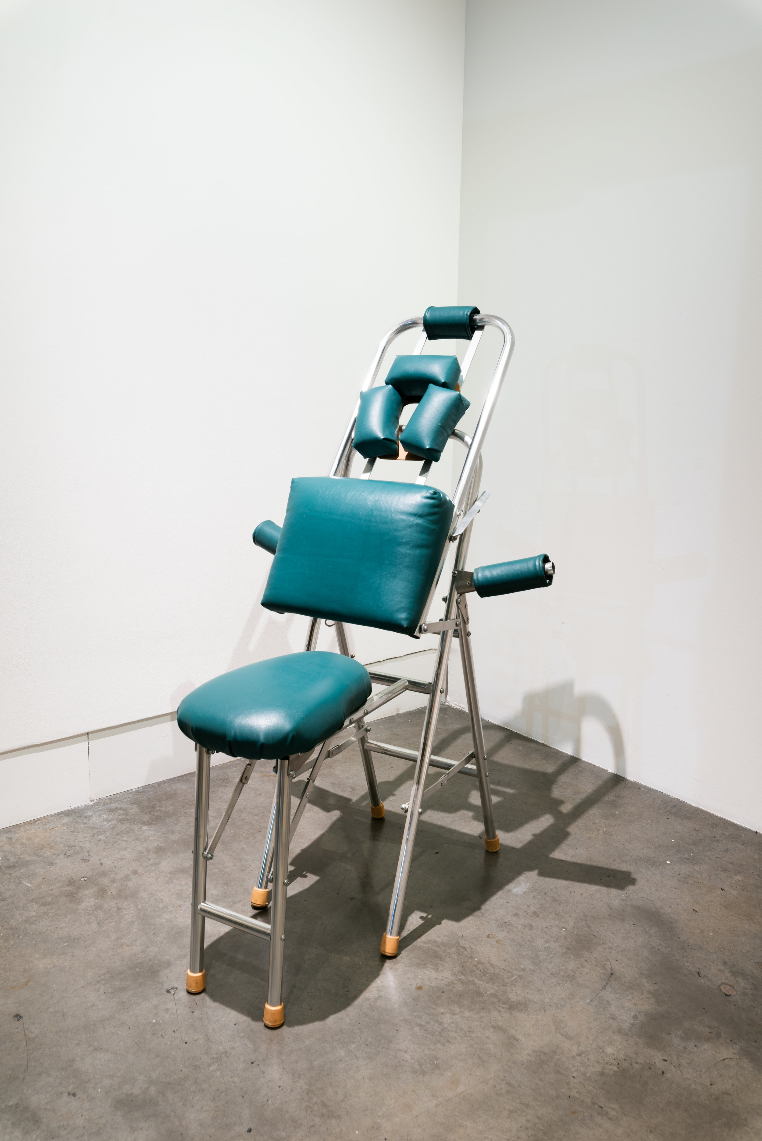 The Masseuse , 2018  Massage chair  48 x 30 x 32 in.