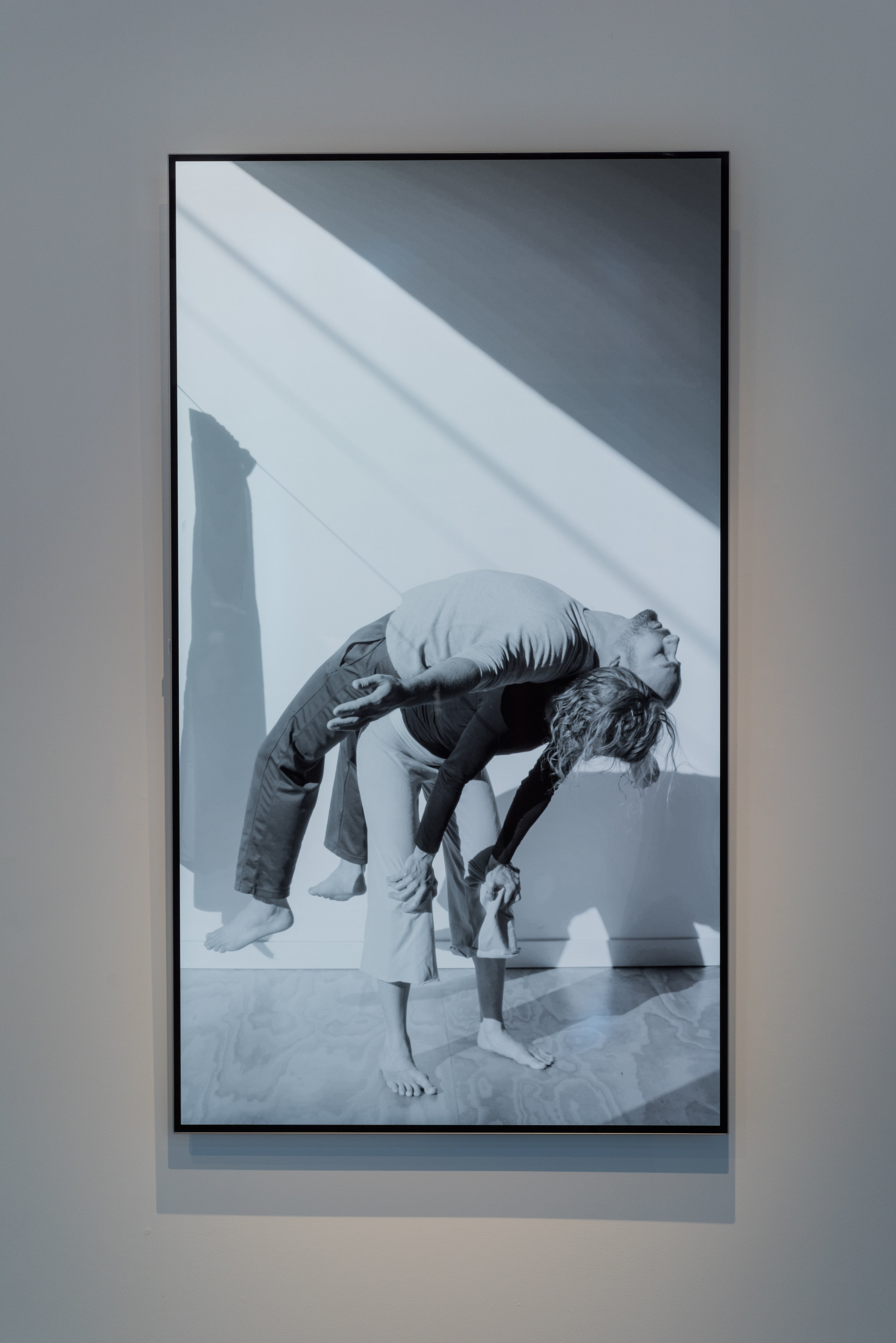 Contact,  2017  video, 65 in. screen  edition 1/5, 2 APs