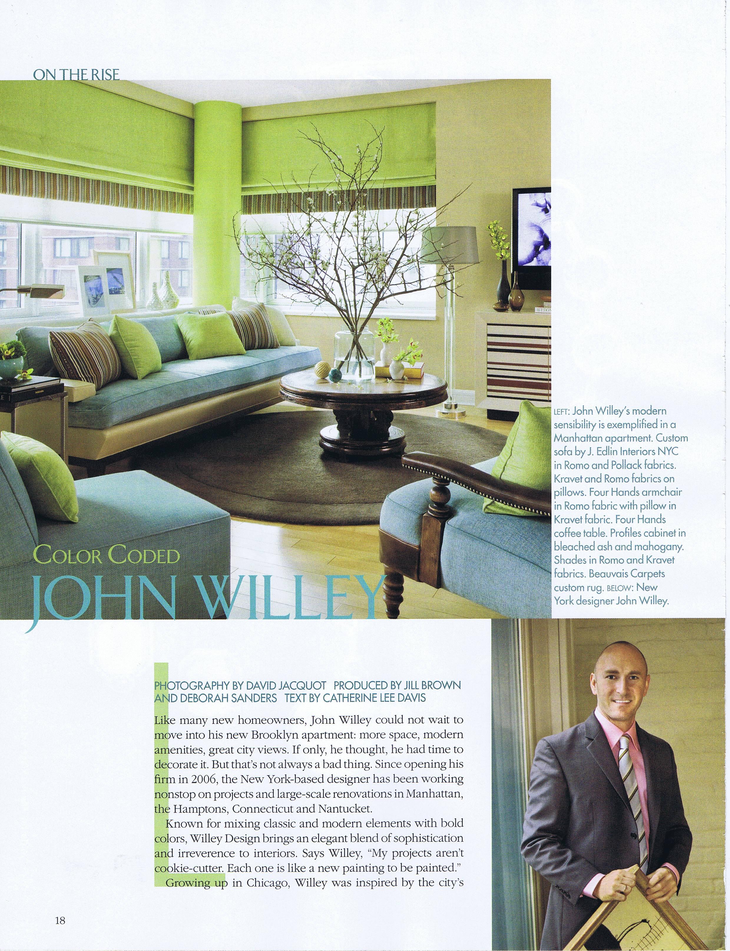 Willey Design Llc Nyc Interior Design Interior Architecture