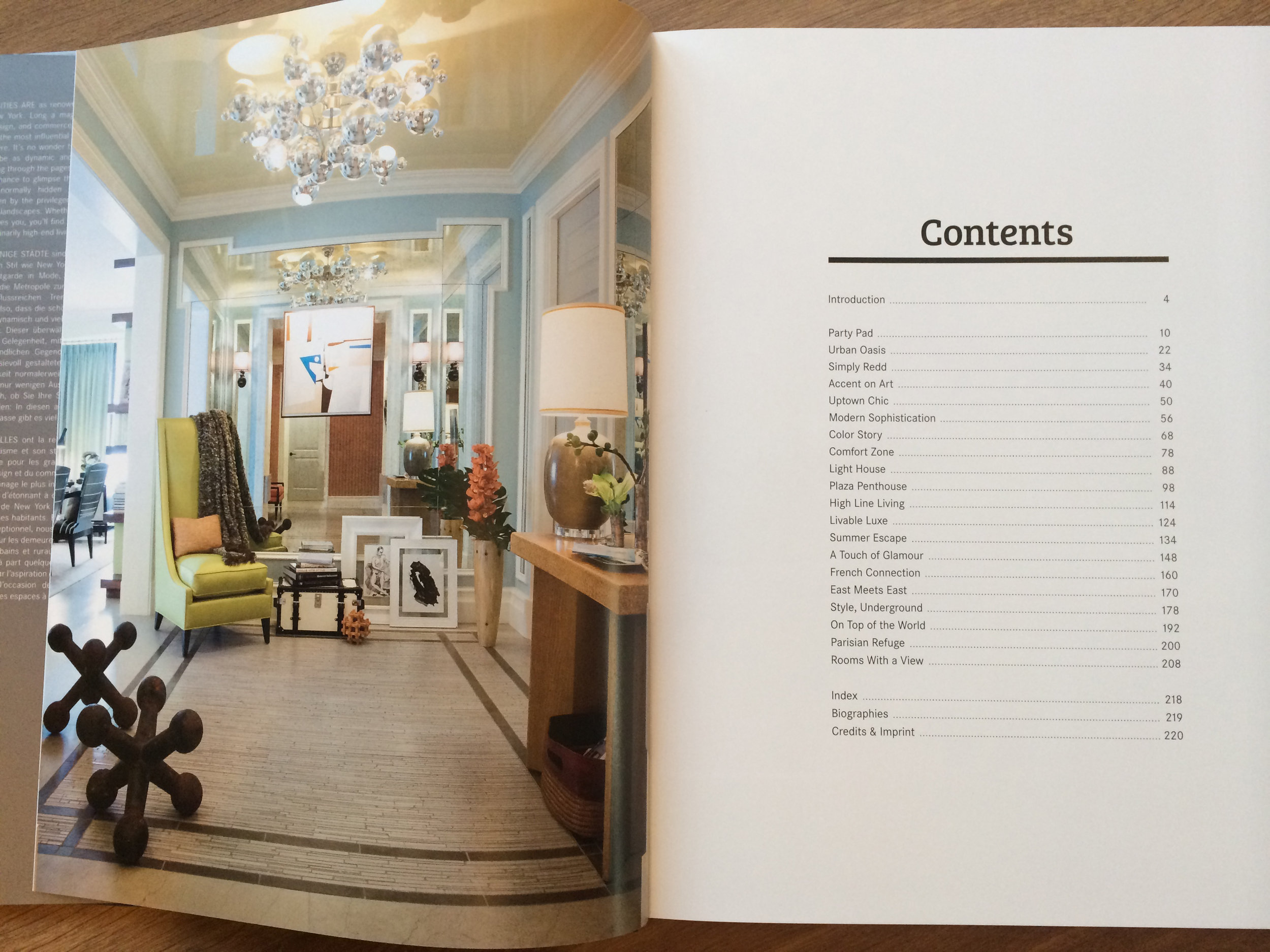 Living In Style New York Book 2014 - Tbl of Contents.JPG