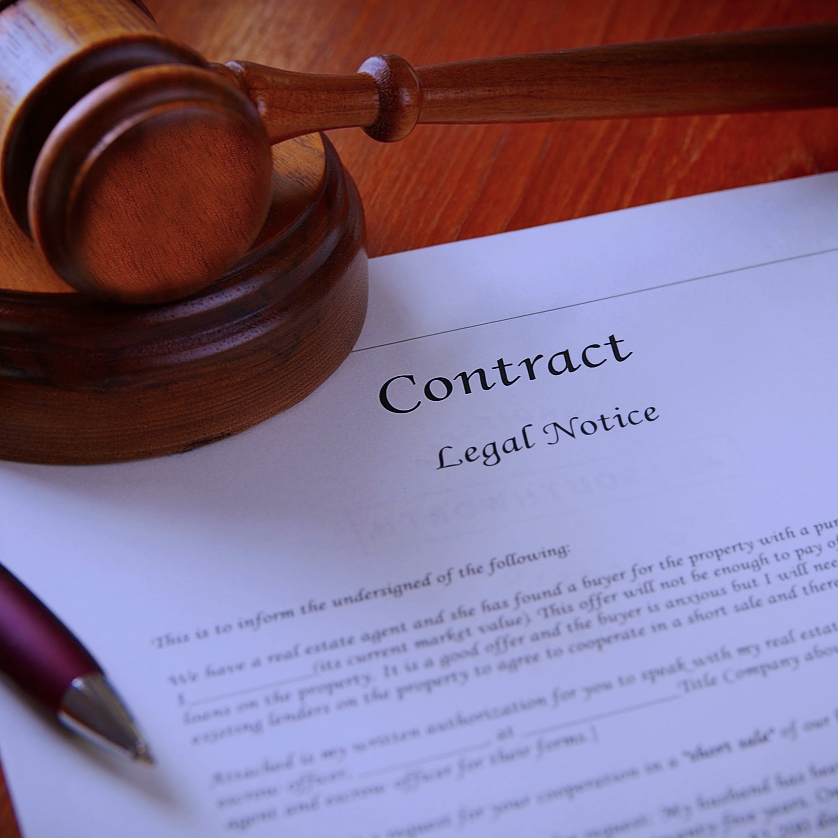 Contract - breaches of contract & contractual disputes - In the event you find yourself involved in a dispute relating to a breach of a contract claim or if someone no longer wishes to abide by the terms of your agreement, our lawyers can help you and work towards a favourable resolution. We can also review any contracts before you sign them to avoid potential disputes from arising in the future.