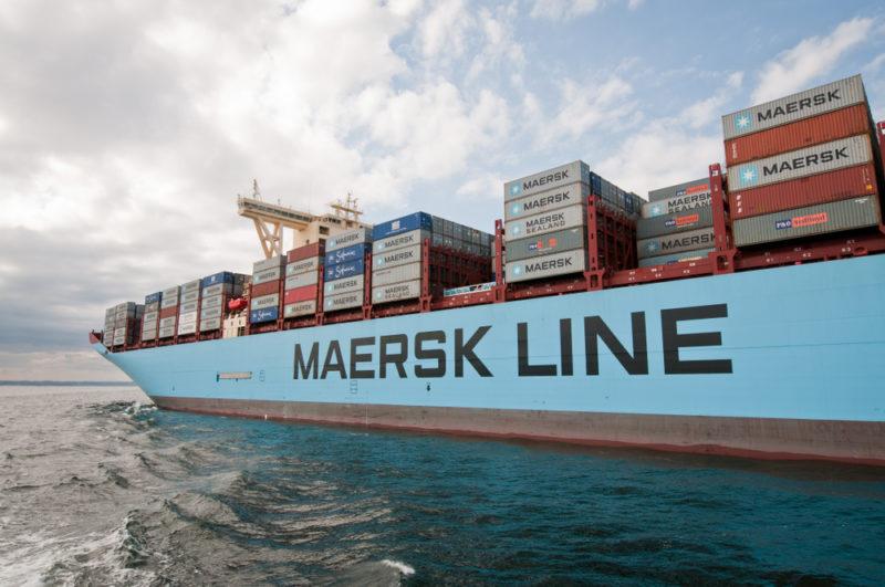 Maersk Swings to Loss - Warns Trade Tensions Hitting Shipping Demand