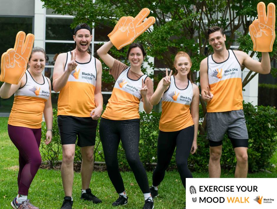 "We fundraised money joining the ""exercise your moodwalk""event on 25th of may! - We walked 10km all together to show our support to Black Dog Institute who fundraised more than $57,390 this day to fight for Mental Illness."