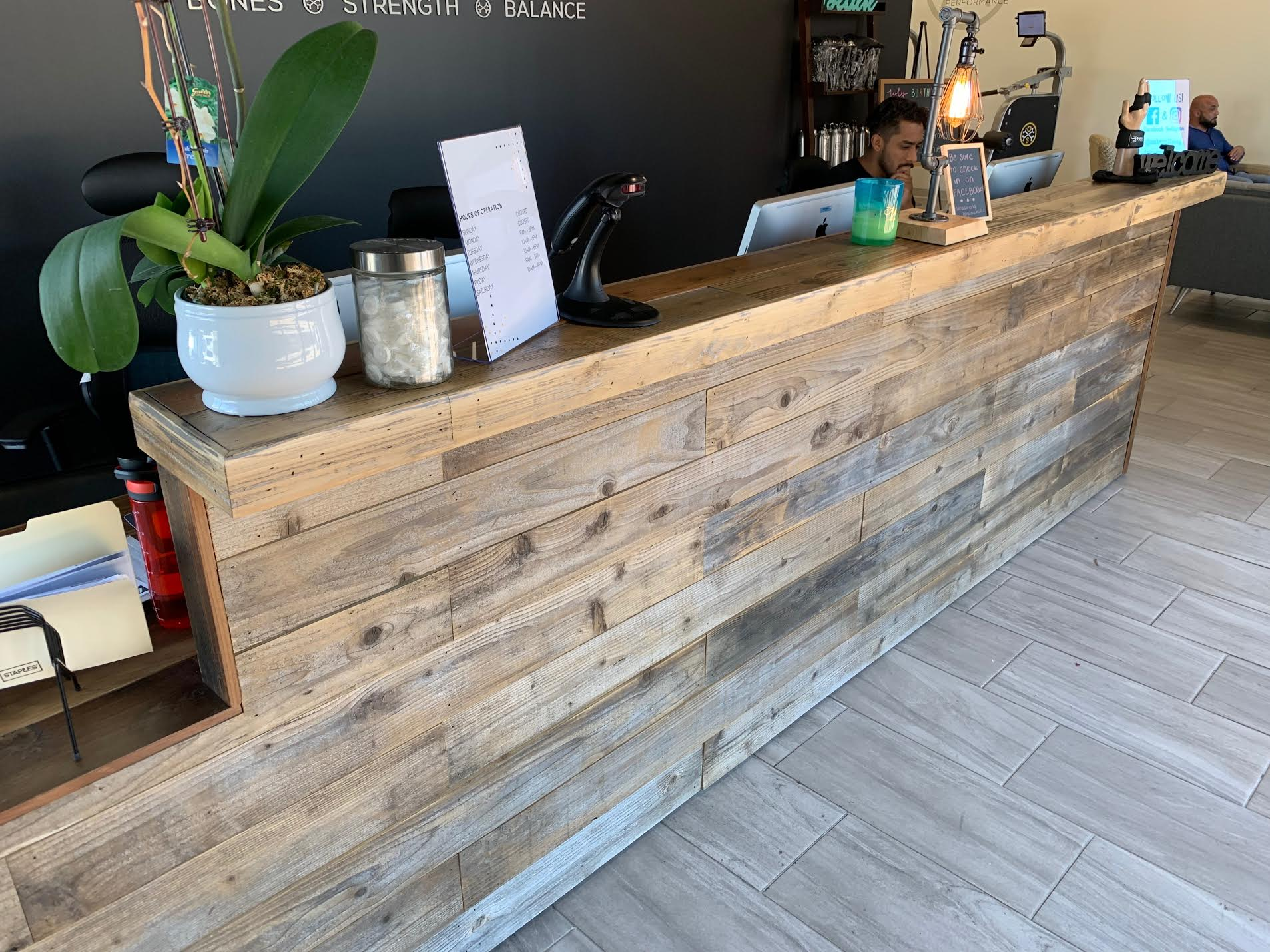 Reclaimed Timber And Barnwood Accent