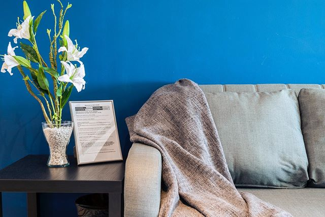 Stay in our blue and beautiful Airbnb in Azure Resort! It's finally open to guests. We decorated our Airbnb home using bold blue paint. It's stylish, vibrant and simply gorgeous! And blue is the most soothing color that adds a bit of mystery. Book that staycation now.  To book, go to www.teamvendo.com.  #airbnb #teamvendo #airbnbbyteamvendo #condo #condoliving #smallspacesquad #smallspaceliving #vacationrental #vacation #interiordesign #bluewalls #modernliving #modernclassic