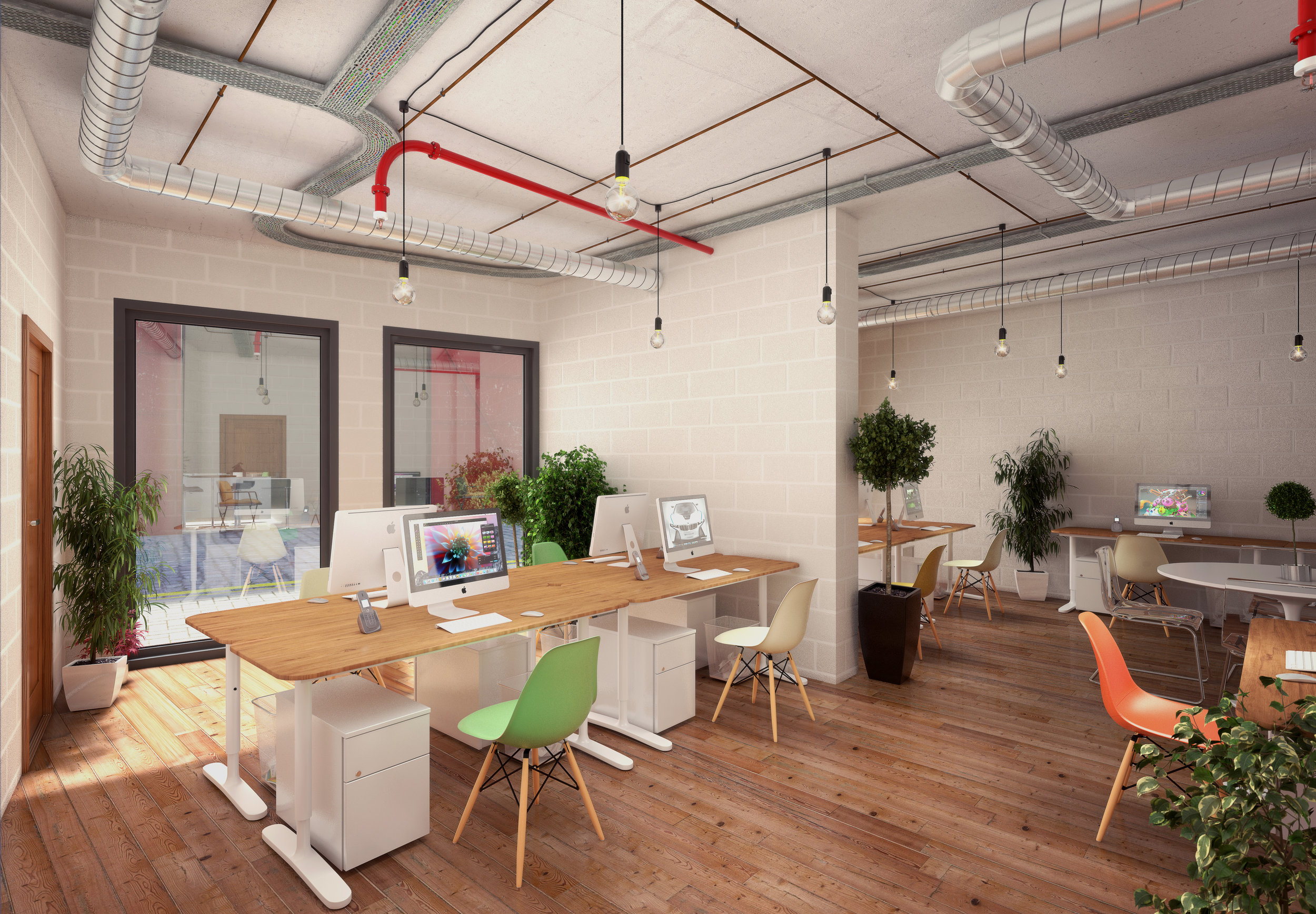 QUAD WORKSPACES - 2 WORKSPACES TO BUY IN THE HEART OF HOXTON