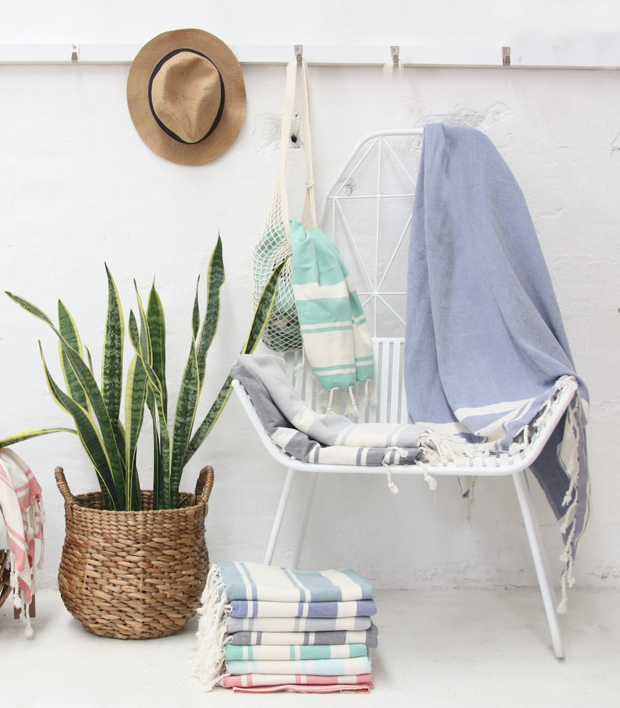 Nomad cotton Turkish Beach Towels