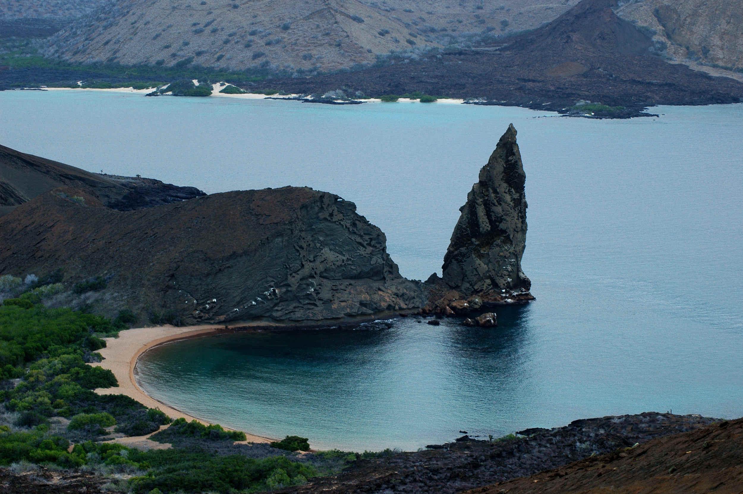 Pinnacle Rock, Galapagos Islands