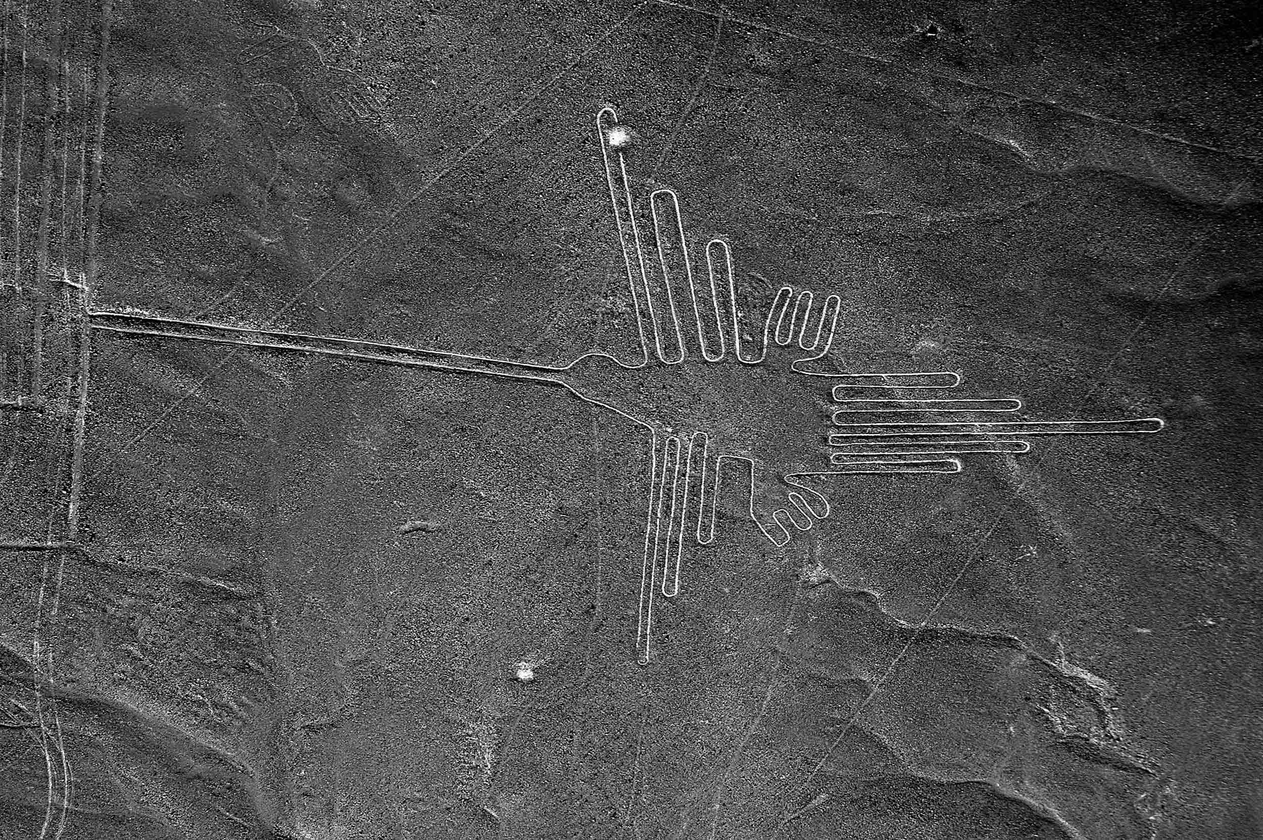 'The Hummingbird', Nazca lines, Peru