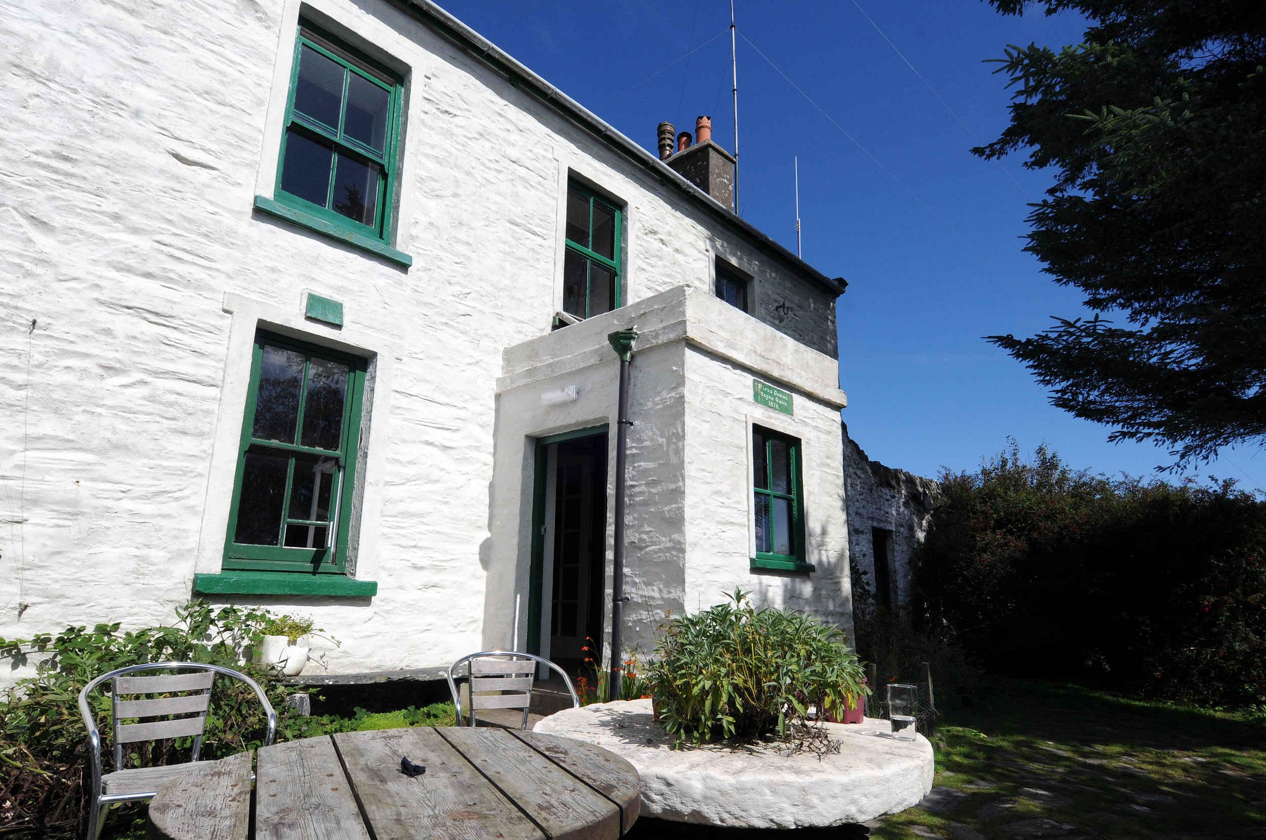 The Calf of Man Observatory was originally a farmhouse