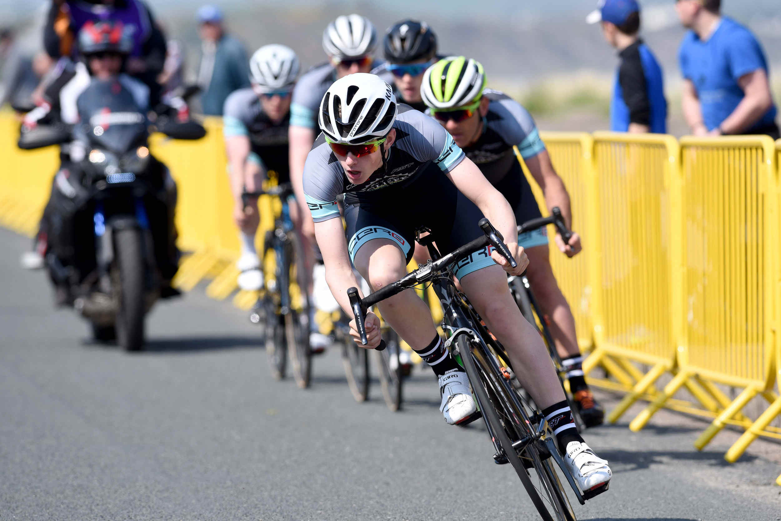 Day One of Isle of Man Cyclefest 2016 on Thursday, May 12. Based around Mooragh Promenade in Ramsey, the event included the first round of the Pearl Izumi Tour Series and a number of youth events and races.