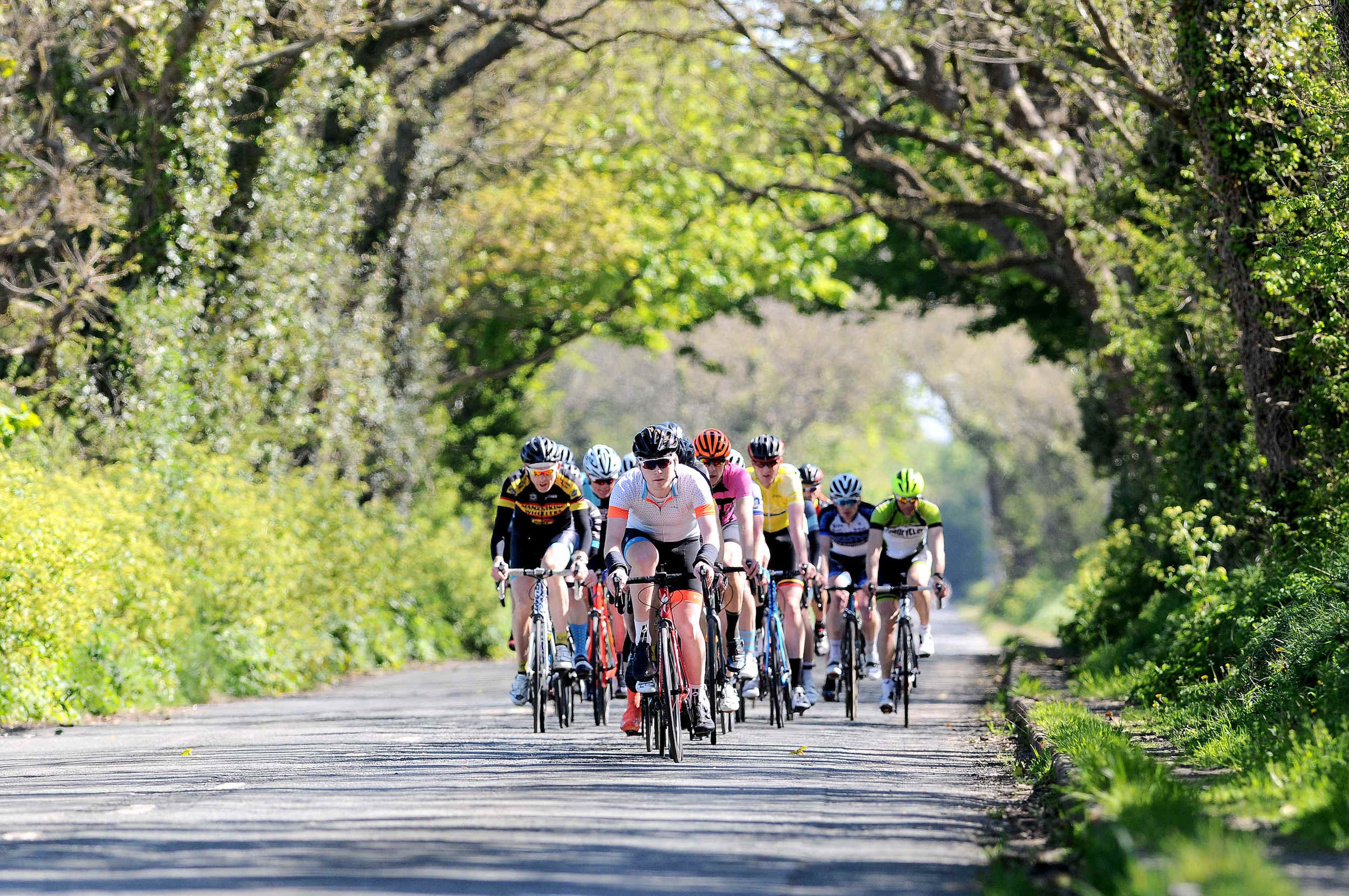 Sunday of Isle of Man Cyclefest 2016 based at Milntown, including the 80-mile Gran Fondo event