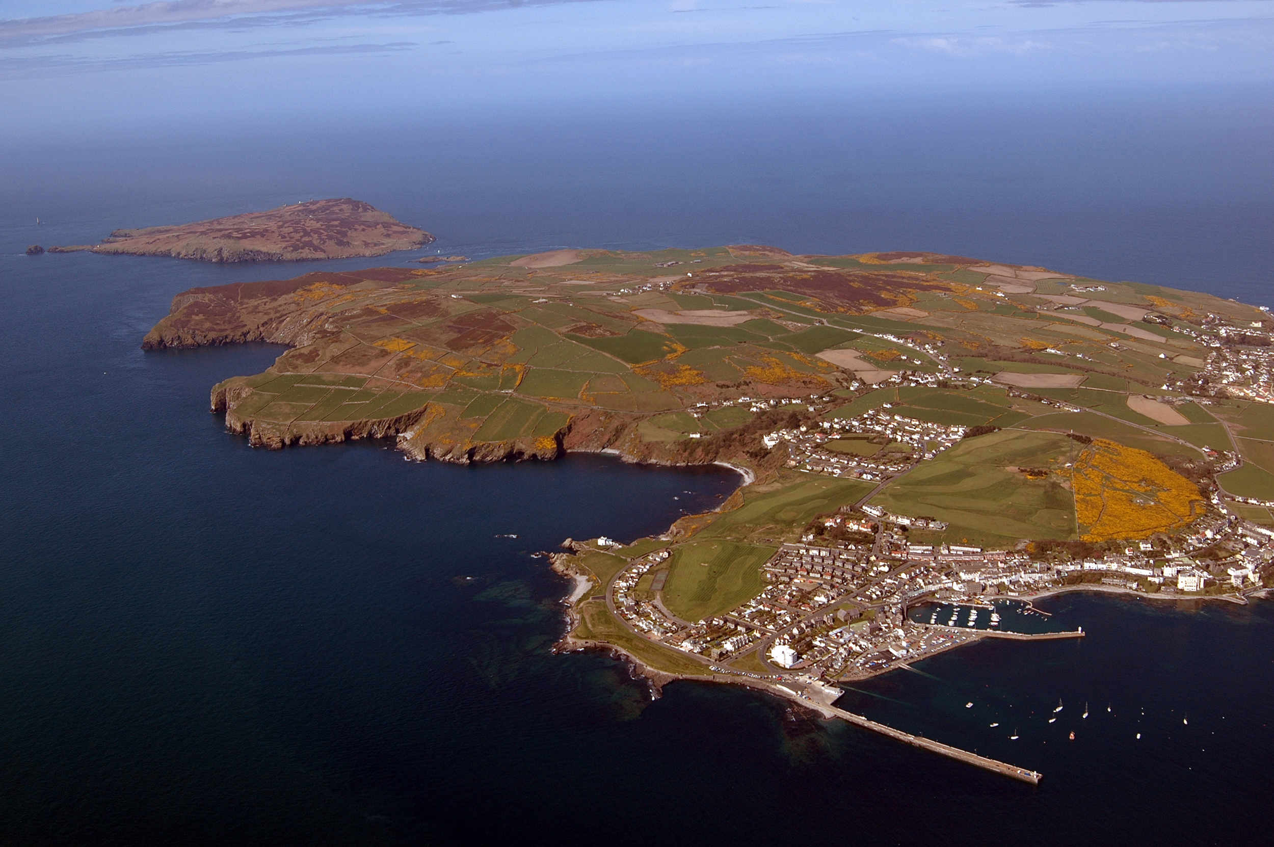 Port st Mary, the Sound and the Calf of Man